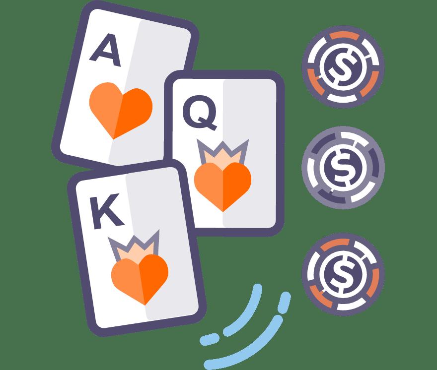 Mängi Live kolme kaardi pokkerit